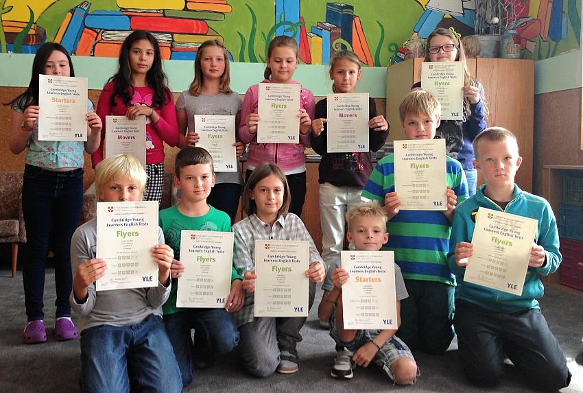 Slavnostní předávání certifikátů, které proběhlo 10. 9. 2013